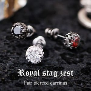 Royal Stag Zest ジルコニアペアピアス SP25-001/SP25-007/SP25-010