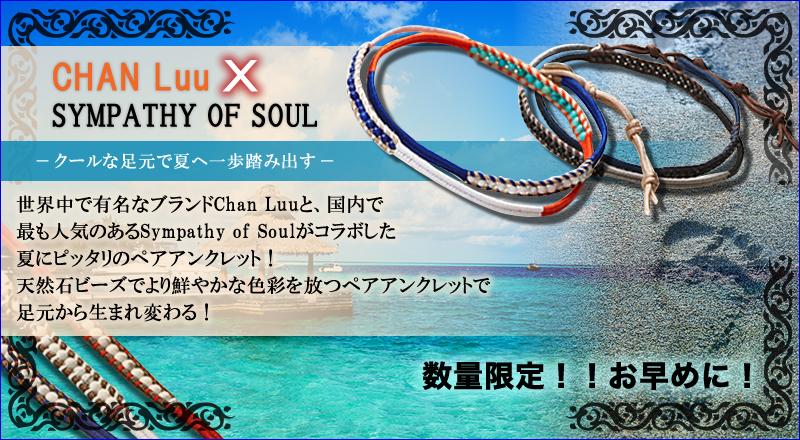 Chan Luu×Sympathy of Soul 専用巾着袋付き